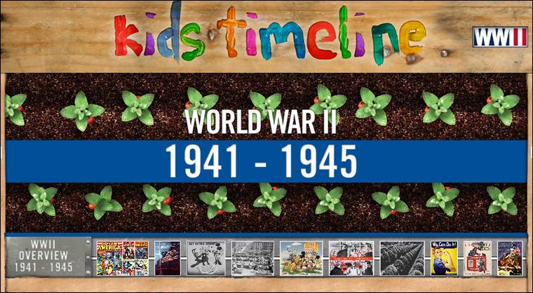 timeline for kids